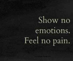 emotions, feel, and pain image