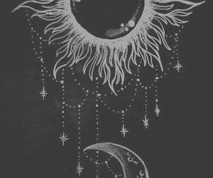 moon, sun, and stars image
