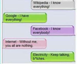 facebook, internet, and funny image