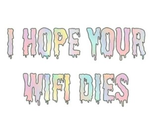 wifi, hope, and quote image