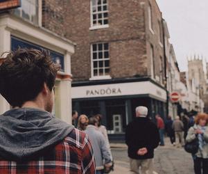 boy, pandora, and city image