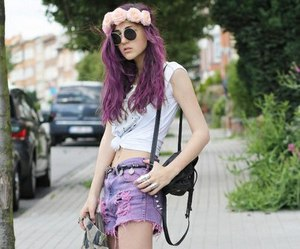 girl, fashion, and grunge image