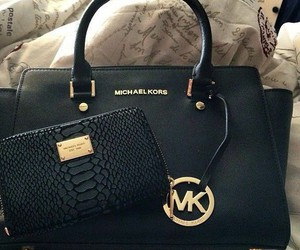 Michael Kors, black, and bag image