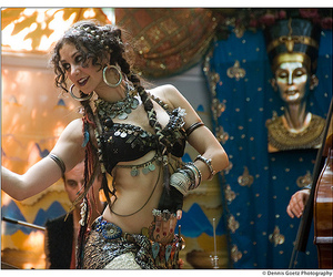 belly dance and tribal image