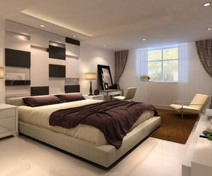 bedroom, design, and elegant image