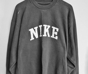 nike, sweater, and red image