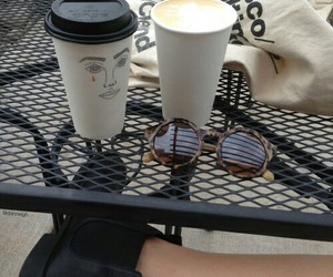coffee, grunge, and tumblr image