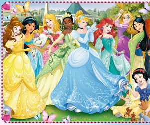 disney princesses and pretty image