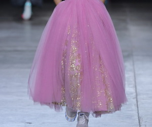 catwalk, dress, and princess image