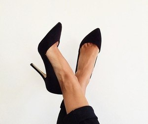 fashion, shoes, and black image