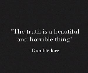beautiful, dumbledore, and horrible image