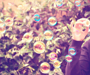 bubbles, photography, and vintage image