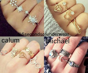 ring, 5 seconds of summer, and michael clifford image