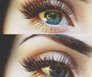eyes, make up, and mascara image