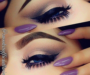 eyebrow, eyelashes, and eyelash image