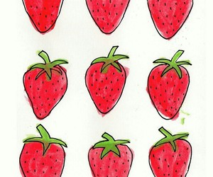 strawberrys and painting image