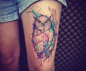 tattoo, animal, and beautiful image