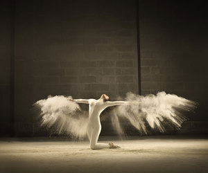 dance, angel, and wings image