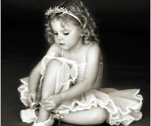 girl, ballet, and ballerina image