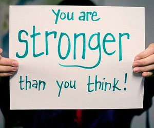 strong, quote, and text image