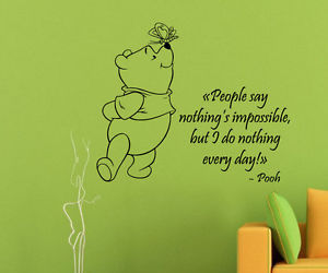 flores, interior design, and winnie the pooh quotes image