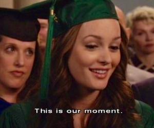 gossip girl, blair waldorf, and graduation image