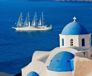 Greece, blue, and photography image