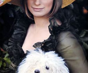 barbra streisand, hat, and dog image