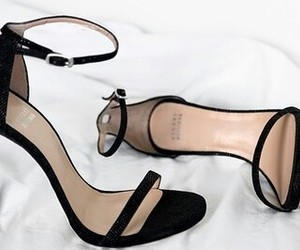 black, luxury, and shoes image