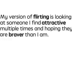 flirting and love image