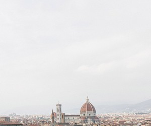 architecture, dome, and florence image