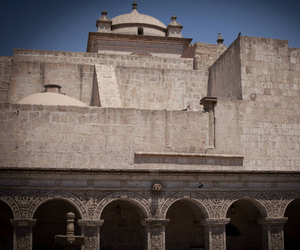 architecture, white city, and arequipa image