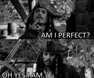 perfect, johnny depp, and jack sparrow image