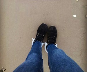 beach, boots, and furry image