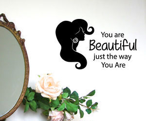 fashion girl, wall decals, and beauty salon image