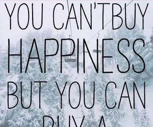 happiness and ski image