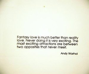 quote, andy warhol, and text image