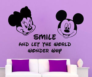 disney, interior design, and wall decals image