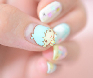 cute, nails, and kawaii image