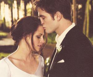 twilight, wedding, and kiss image