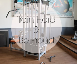 workout, proud, and fitness image