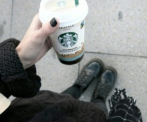 starbucks, drink, and fashion image