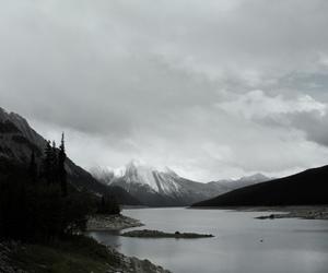 dark, beautiful, and landscape image