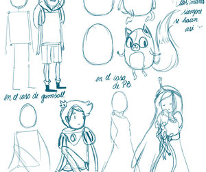 art, drawing, and adventure time image
