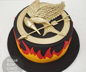 cake, hunger games, and food image