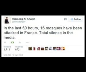 attack, muslims, and france image