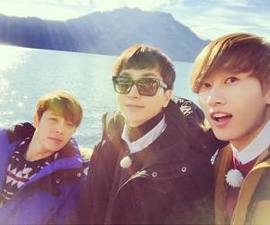 eunhyuk, Leeteuk, and donghae image