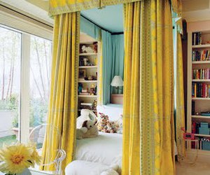 bedroom and yellow image