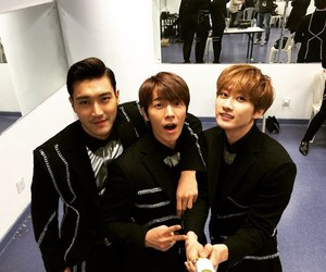 donghae, siwon, and SJ image