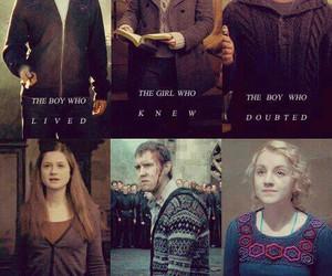 harry potter, hermione granger, and luna lovegood image